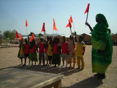 Day of the African Child, Treguine Camp, Chad