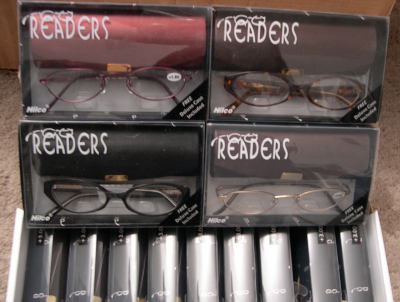 Reading Glasses Donated by Hilco